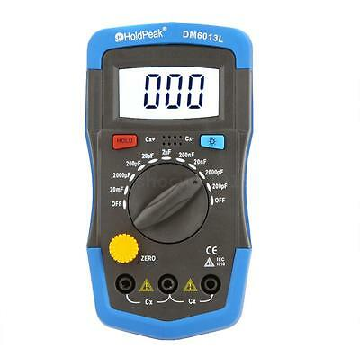 Dm6013l Handheld Digital Capacitor Capacitance Tester Meter Lcd Backlight New