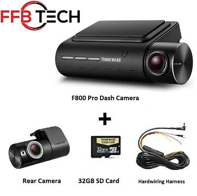 Thinkware F800 PRO KIT 2CH 32GB HD  WIFI GPS Night Vision+Rear Cam+ HW Kit