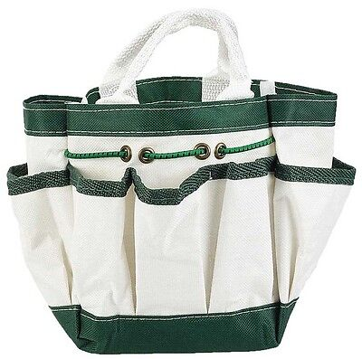 Canvas Garden Tote with 7 Pockets - ...