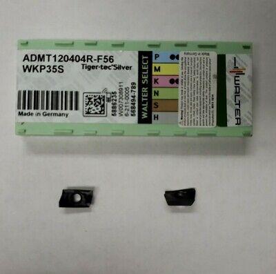 Walter Admt120404r-f56 Grade Wkp35s Inserts Lot Of 10 Inserts