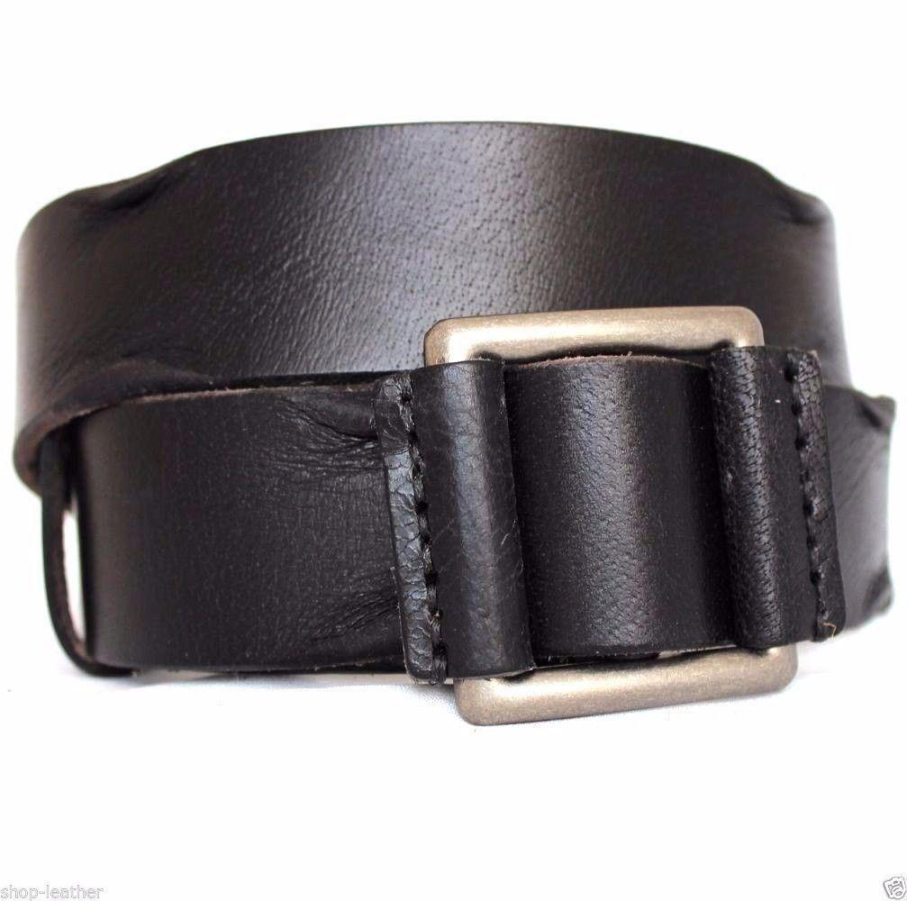 Genuine full Leather belt 43 mm mens womens Waist handmade classic 60/'s size XXL