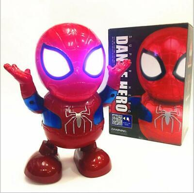 Toys For Boys Dancing Spiderman Robot 2 3 4 5 6 7 8 9 Year Age Old Xmas gifts UK