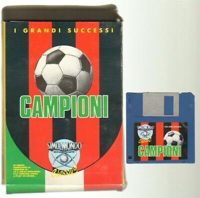 Simulmondo Classic n. 3 Campioni Milan Videogioco Amiga. Simulmondo