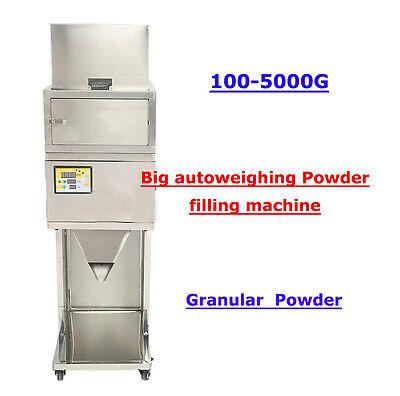 110V 100-5000g  BIG Powder filling machine vibratory filler Tea Weigh Automatic