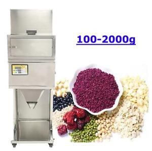 Powder Filling Machine 100-2000g Automatic Weighing and Filling Powder Filler Machine Microcomputer (Item# 188088)