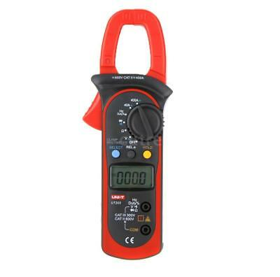 UNI-T UT203 400A AC/DC Digital Auto Range Clamp Multimeter Frequenz Tester P9O8 Digital Clamp Multimeter Tester