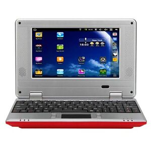 New_7__VIA_8650_Netbook_Google_Android_2_2_800MHz_256MB_4GB_Wifi_Red