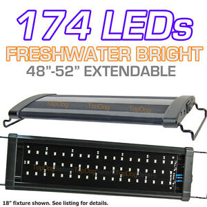 LED-Aquarium-Light-Freshwater-Tropical-Fish-Bright-Single-48-4-ft-120-cm-Discus