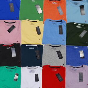 Tommy-Hilfiger-T-shirt-Crew-Neck-Mens-Short-Sleeve-Tshirt-Nwt-Xs-S-M-L-Xl-Xxl