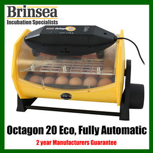 NEW-Brinsea-OCTAGON-20-ECO-Fully-Automatic-Incubator