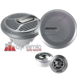 ALPINE-SPR-M70-7-034-2-Way-Marine-Type-R-Series-Boat-Component-Speakers-System-NEW