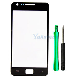 Replace-Touch-screen-Outer-Glass-Lens-for-Samsung-Galaxy-S2-i9100-S-2-II-Black