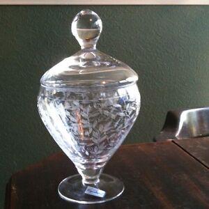 GLASSWORKS BOHEMIA LTD 24 HAND CUT LEAD CRYSTAL VASE PODEBRADY CZECH REPUBLIC | eBay
