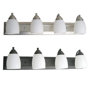 Brushed-Nickel-Or-Oil-Rubbed-Bronze-4-Light-Bath-Wall-30-Your-Choice