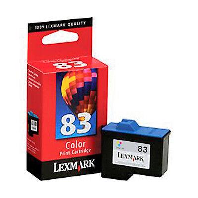 Genuine (retail Box) Lexmark 83 18l0042 Color Ink Cartrid...