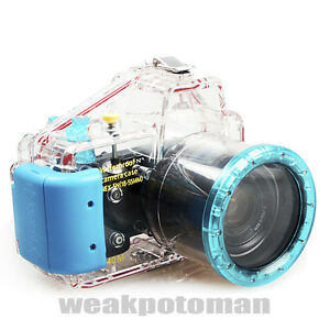 SONY NEX5N NEX-5N 18-55mm Waterproof Underwater Housing Camera Case 40m 130ft