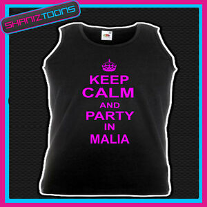 KEEP-CALM-AND-PARTY-IN-MALIA-HOLIDAY-CLUBBING-HEN-PARTY-UNISEX-VEST-TOP