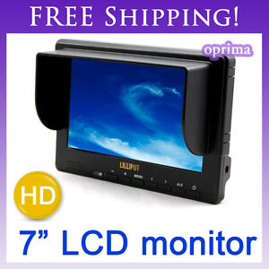 NEW LILLIPUT 7'' 667GL-70 NP/H/Y Monitor HDMI & YPbPr Input HD-SDI(optional)