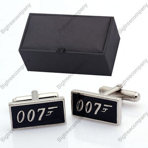 James Bond 007 Birthday Wedding Cufflinks Gift Box,1449