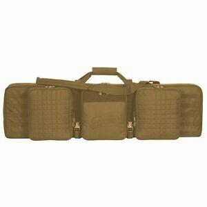 Voodoo-Tactical-42-Deluxe-Padded-Weapons-Case-15-9648-Coyote-Brown-Lockable