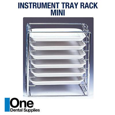 Dental Instrument Tray Rack Mini