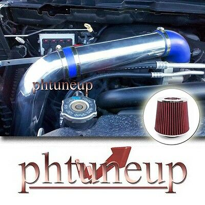 Blue Red 2009- 2012 Dodge Hemi Ram 1500 2500 3500 5.7 5.7l Cold Air Intake Kit