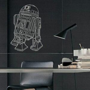 Large Star Wars R2d2 Childrens Bedroom Wall Art Mural