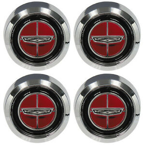 70 77 Ford Wheel Center Cap Set 4 Magnum 500 Torino Maverick 71 72 73 74 75 76