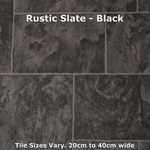 Vinyl cushion flooring ebay for Cushion floor tiles kitchen