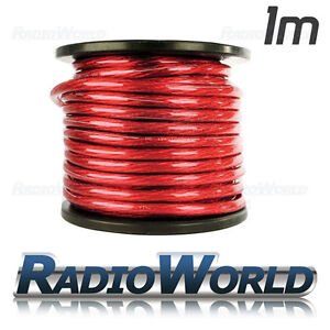 1m Amplifier Power Cable/Wire 0 Gauge AWG 50mm²  5 m