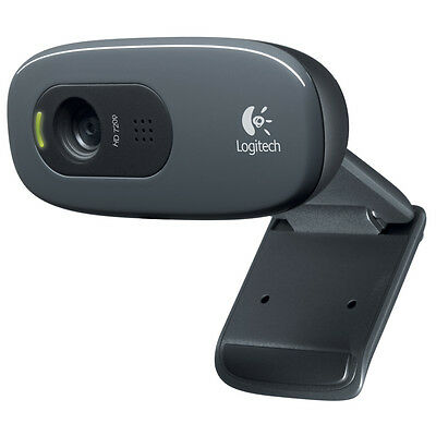 Logitech HD Pro C270 3.0MP Webcam Widescreen with built in Mic on Rummage