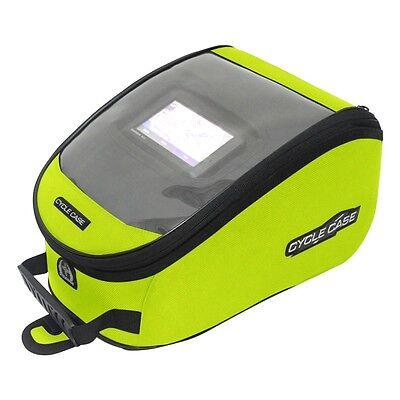 Cycle Case H-viz Rider Gps Magnetic Base Tank Bag Motorcycle Sportbike Street