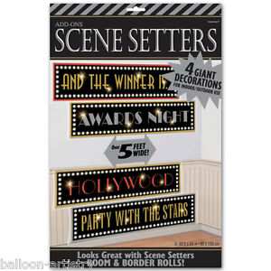 Hollywood Party Scene Setter Add on - AWARDS SIGNS