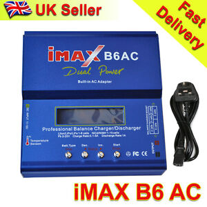 iMAX B6 AC Professional Digital RC Lipo NiMh Battery Balance Charger UK