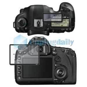 For Canon EOS 5D Mark III 5DIII 5D3 Optical Glass Rigid LCD Screen Protector