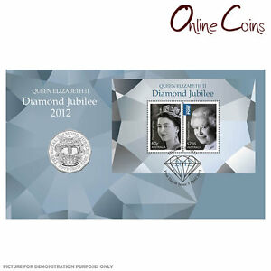 2012-Queens-Diamond-Jubilee-PNC-Features-Commemorative-50c-Coin