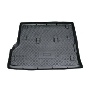 Nissan Patrol GU 99-Curent, Rubber Car Boot Mat, NEW, High Side, 5 Year Warranty