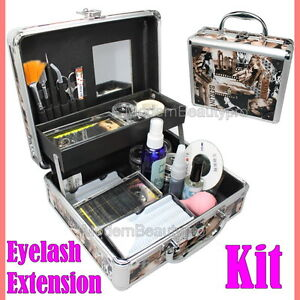 Professional-False-Eye-Lash-Eyelash-Extension-Full-Kit-Set-With-Case