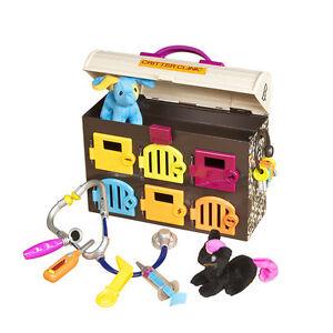 critter clinic toy vet play set