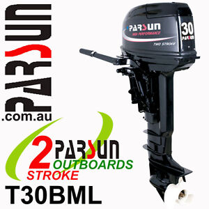 30HP-PARSUN-Outboard-2-stroke-Long-Shaft-BRAND-NEW-2yr-FULL-FACTORY-Warranty
