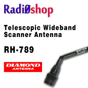 Diamond scanner antenna
