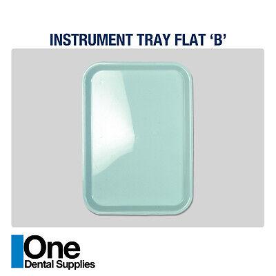 Dental Instrument Trays Flat 10 Pcs
