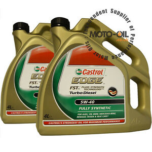 NEW-8-LTR-CASTROL-EDGE-TURBO-DIESEL-5W-40-Castrol-s-Strongest-OIL