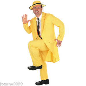 90S-ADULT-MENS-YELLOW-GANGSTER-ZOOT-SUIT-THE-MASK-JIM-CARREY-FANCY-DRESS-COSTUME
