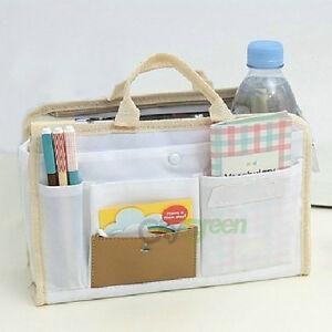 Women-MP3-Phone-Cosmetic-Book-Storage-Organizer-Bag-in-Bag-Handbag-4-Colors-US