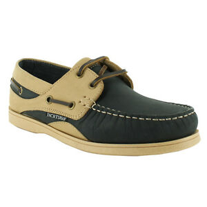NEW LADIES FLAT TWIN EYELET LEATHER YACHTING NUBUCK DECK BOAT SHOES SIZES UK 4-8