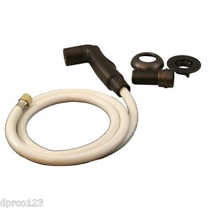 Oil Rubbed Bronze Kitchen Side Sprayer Replacement Kit W