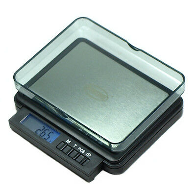 Horizon 2000g by 0.1g Digital Scale Portable Precision jewelry scale counting