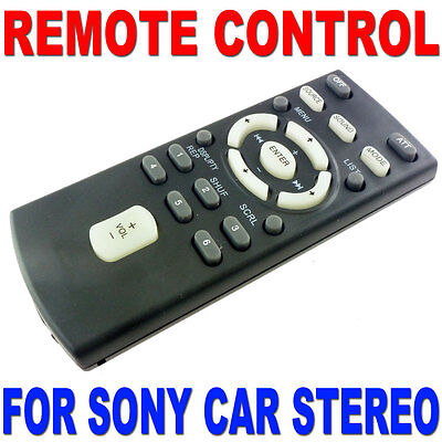 Remote Control For Sony Cd Mp3 Dvd Car Radio Stereo Most Models Replaces Rm-x151