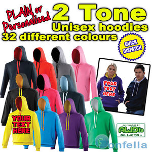 Two-Tone-Colour-Custom-Printed-Personalised-Hoodie-Design-your-own